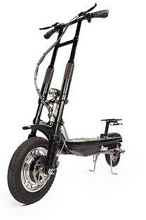 Like the Myway Scooter, this monster of a scooter derives from Israel.
