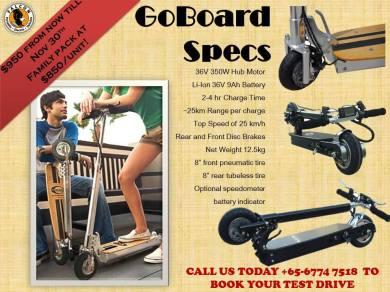 GoBoard Kick Scooters Singapore