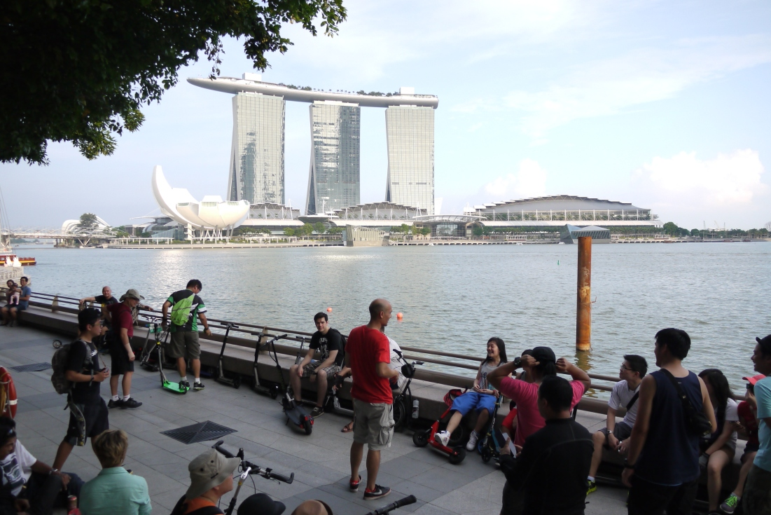 Scooter Gathering in Singapore
