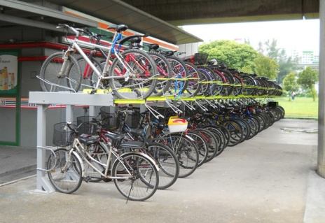 MRT Station Bike rack