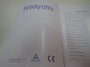 MyWay CE Certification