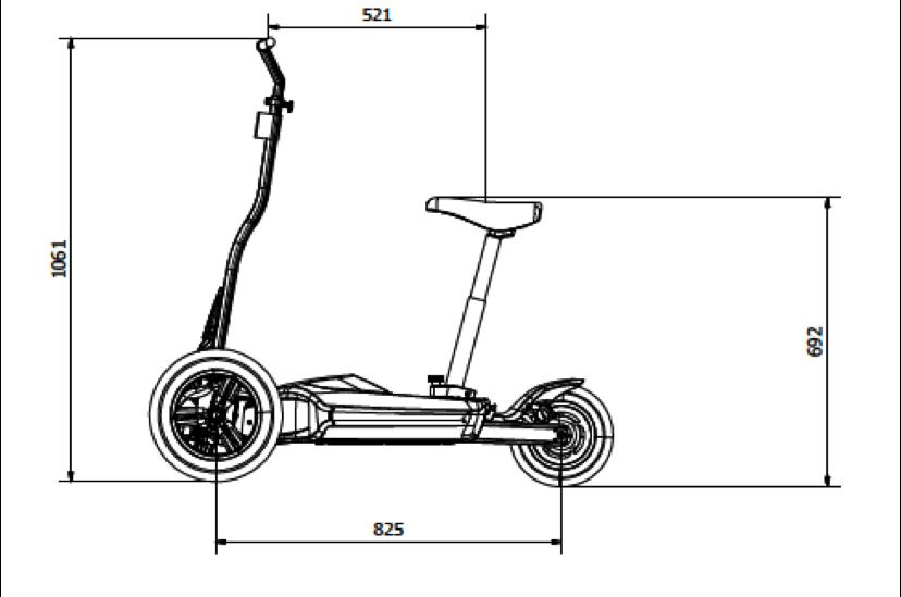 MUVEScooterDimensions