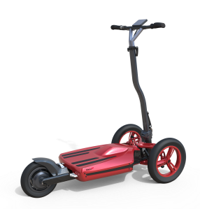 Compact, ultra-lightweight and foldable. The MUVe electric scooter.