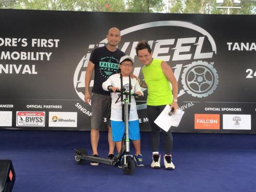 Prize Winners for our kids challenge event