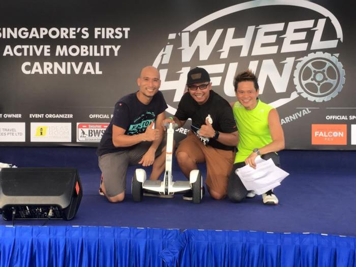 iWheel4Fun - Singapore's Inaugural electric mobility carnival and challenge