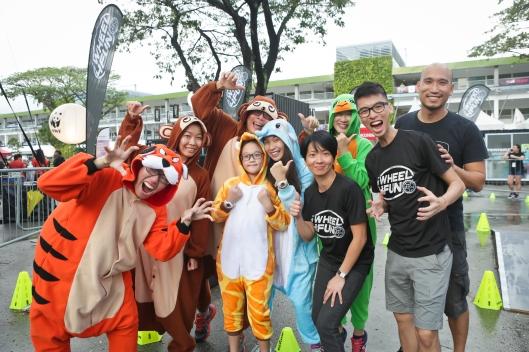 iwheel4fun with mascots
