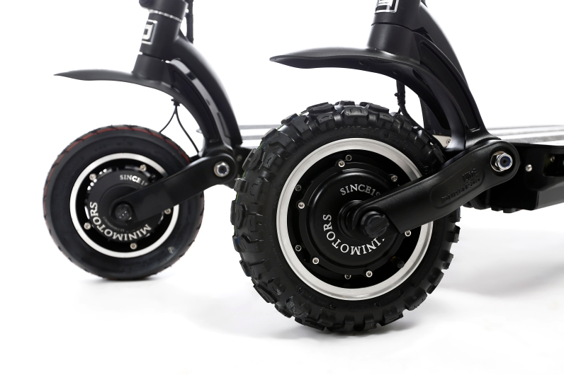 e-scooter large wheels dualtron