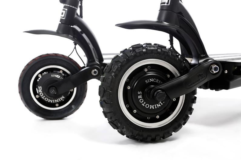 e-scooter large wheels dualtron