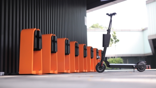 e-scooter sharing platform